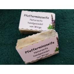 Pfefferminz-Seife