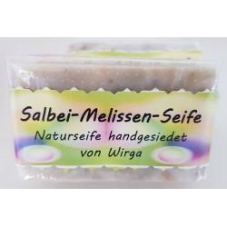Salbei-Melissen-Seife