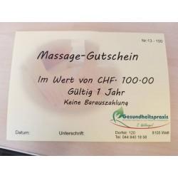 Massage-Gutschein